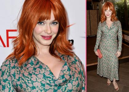christina hendricks at AFI Awards-featured-showbizbites