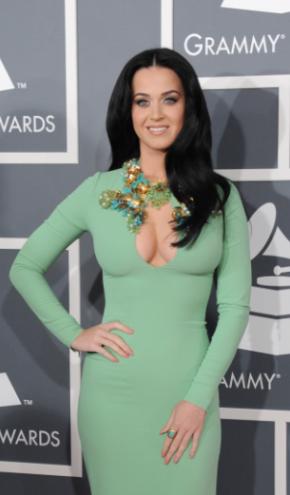 Katy Perry at Grammys 2013 Night