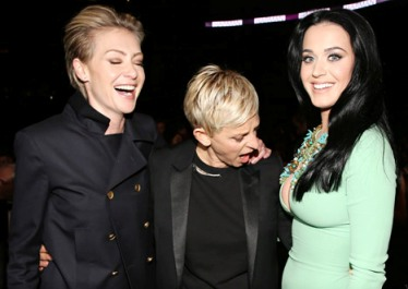 Katy Perry at Grammys 2013