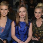 maggie, christina, ashlee at nyfashionweek-showbizbites