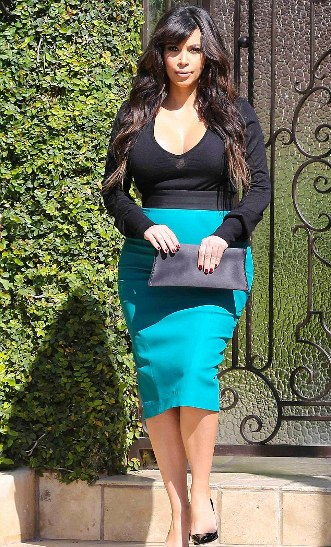 Blue Pencil Skirt Outfit Ideas – images free download