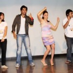 Shiv and Aditi with the students-showbizbites-01