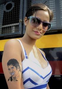 poonam with sachin tattoo-showbizbites