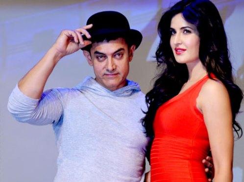 Aamir-Kat Dhoom 3 Promotions