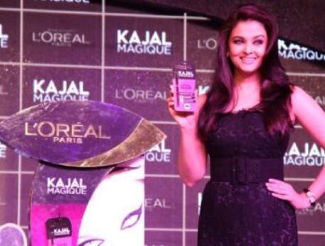 Aishwarya Rai and L'Oreal Paris Launch Kajal Magique