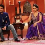 madhuri on comedy nights-showbizbites