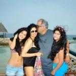 sri devi with daughters in bikini-showbizbites-featured