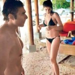 uday and nargis in Mardives-showbizbites