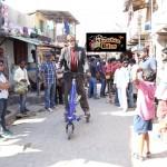 Mr Bachchan on scooter on Bhoothnath Returns sets-showbizbites-01