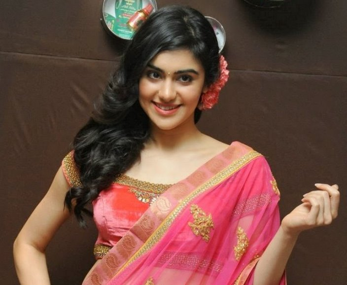 adah in saree-showbizbites-featured