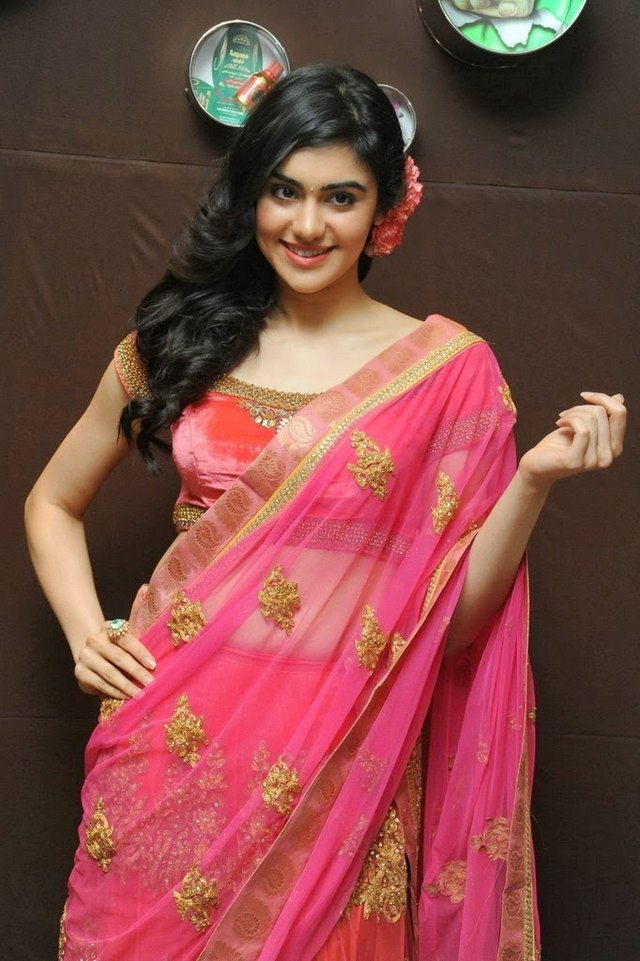 adah in saree-showbizbites