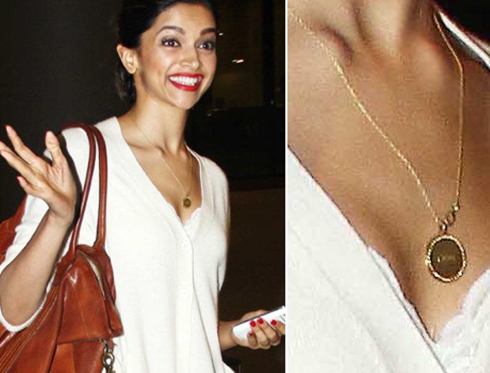 Photos: Deepika Padukone Spotted Wearing Ranveer Singh's ...  Photos: Deepika...