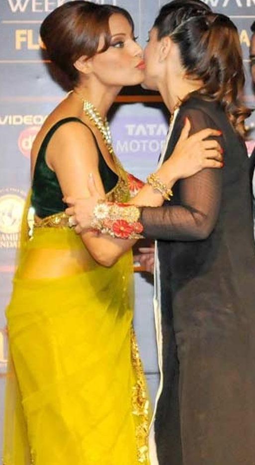 Hot Kiss Of Kareena