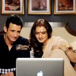 Rekha & Sharman Joshi in Super Nani-showbizbites