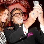 Anushka Ranjan with Amitabh Bachchan - feat