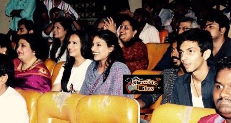 rajini's family watches Lingaa-showbizbites - 01