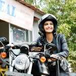 Sonam Kapoor riding a bike in Dolly Ki Doli