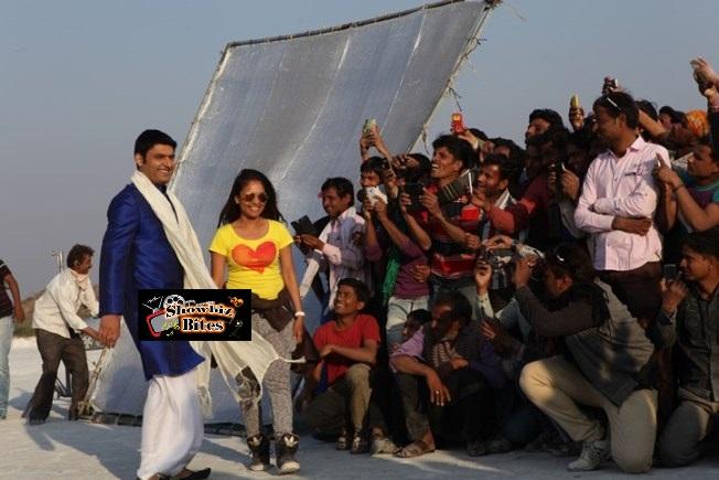 Kapil Sharma on sets of Kis Kisko Pyaar Karoon (4)