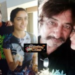 Shraddha's birthday with dad Shakti