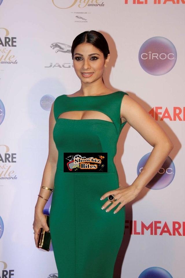 Tanishaa Mukerji At Filmfare Awards-01