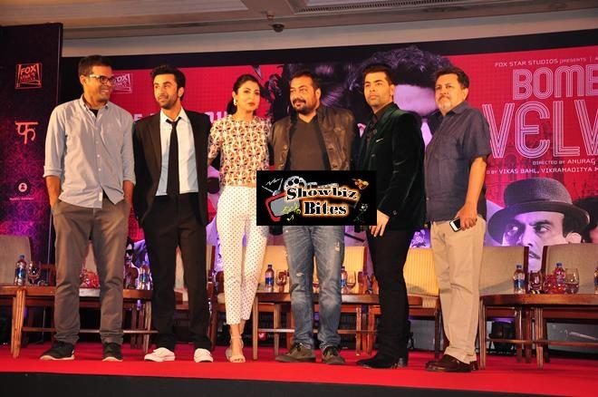Bombay Velvet Trailer Launch-02