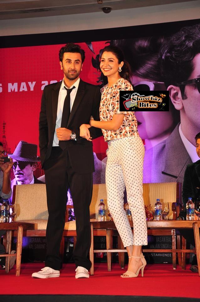 Bombay Velvet Trailer Launch-04