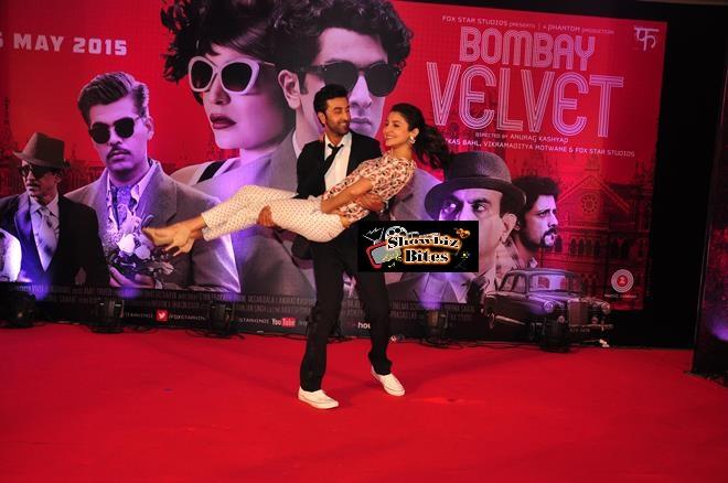 Bombay Velvet Trailer Launch-12