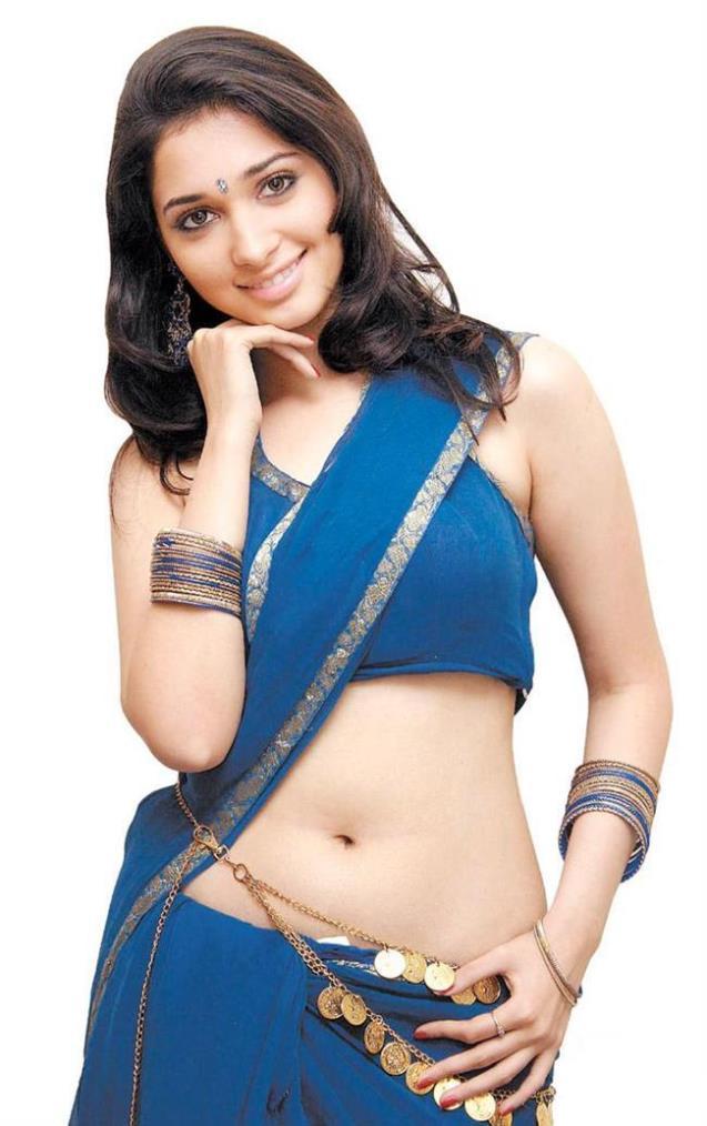 Tamanna Bhatia Hot Navel Show-06