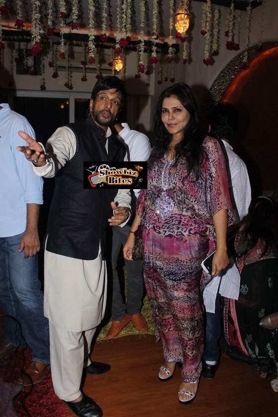 Javed Jaffrey and Nisha Jamwal