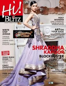 Shraddha Kapoor on Hi Blitz Cover