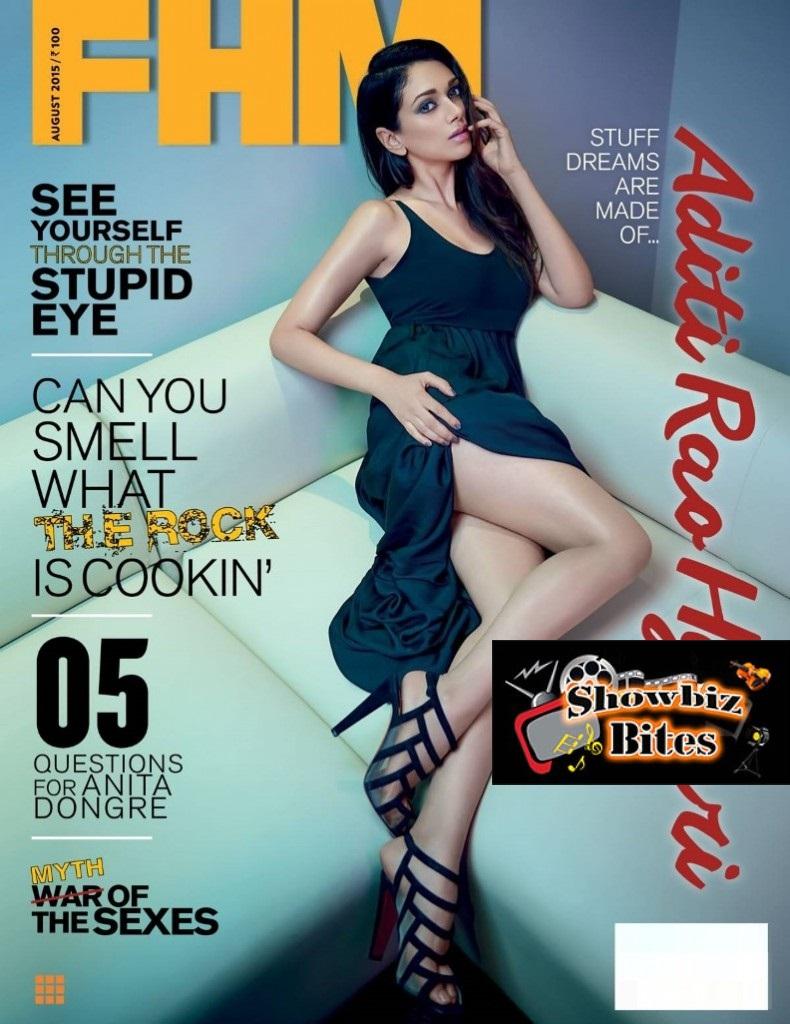 Aditi Rao Hydaro on FHM Magazine Cover-01