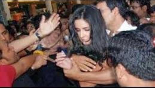 katrina kaif molested in public