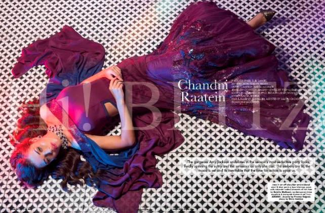 Amy Jackson Hi Blitz Magazine Photoshoot