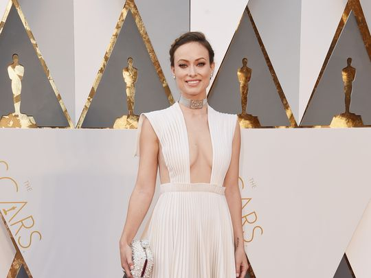 Olivia at Oscars 2016