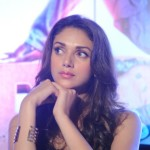 Actress Aditi Rao Hydari @ Boss Movie Press Meet Hyderabad Photos