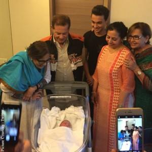 arpita khan delivers baby boy