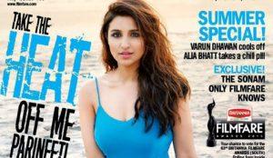 Parineeti Chopra Looks Damn Hot on Filmfare Magazine Cover