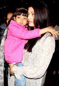 aishwarya rai with daughter