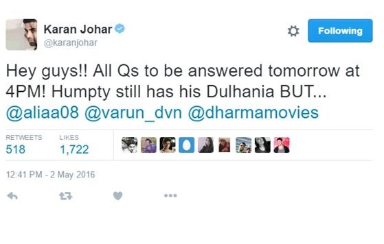 karan johar movies