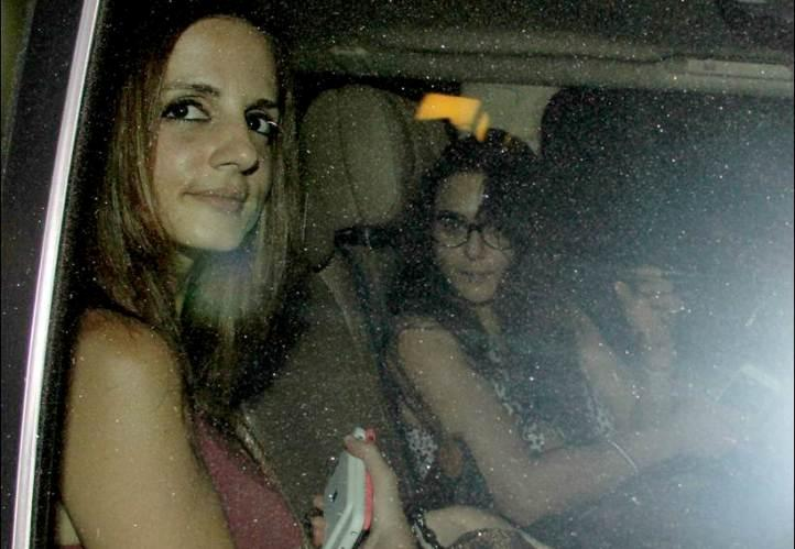 preity zinta and sussane khan's dinner date