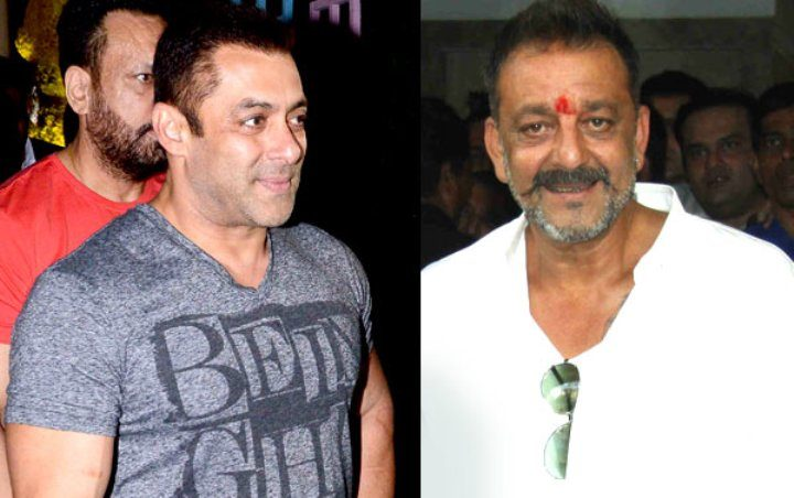 salman khan sanjay dutt fight