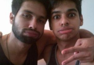 shahid kapoor with brother