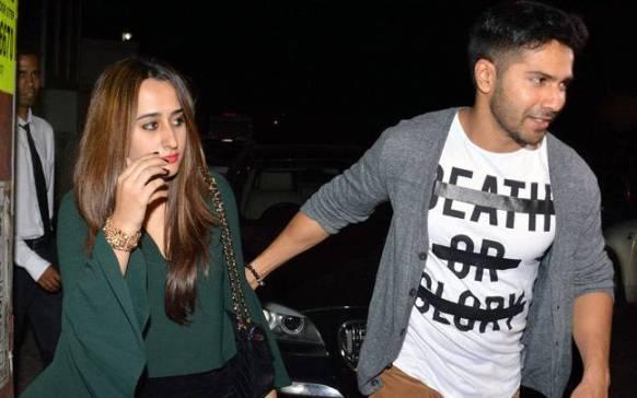 varun dhawan and girlfriend