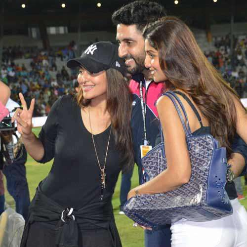 bollywood at celebrity football match