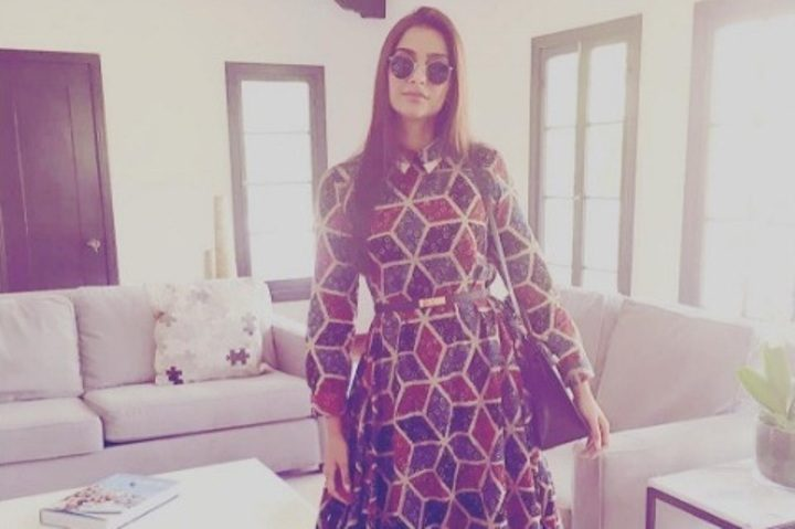 Image Source; Sonam Kapoor's Instagram