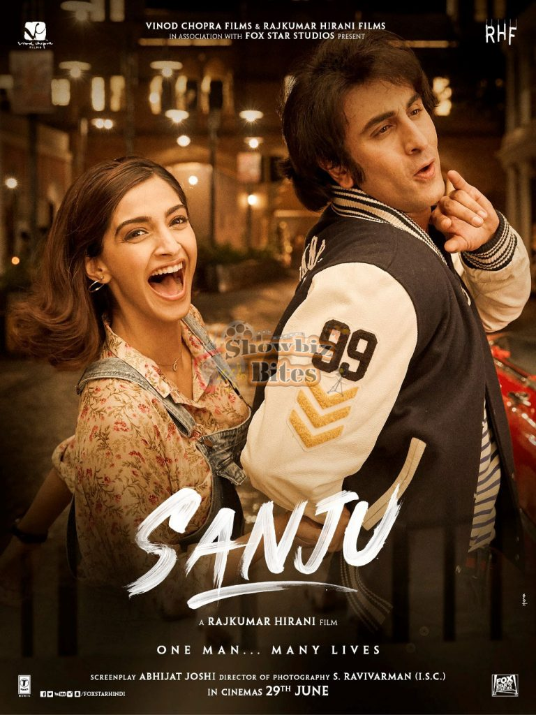 Brand new poster of Sanju