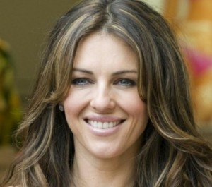 Elizabeth Hurley Reveals Diet Secrets – See Her Shoot in White Plunging Swimwear