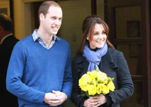 Kate Middleton's Baby Bump Pictures Published All Over