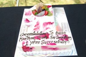 Amrit Manthan First Anniversary Party with Cast and Crew
