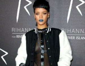 Rihanna Shows Her 80s-Inspired Mullet Hair Look